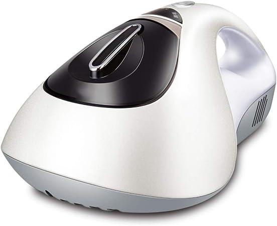 OR&DK Aspirador Anti ácaros UV, Filtración hepa Vibración de Alta frecuencia Elimina ácaros, Chinches de Cama y los alérgenos de colchones, Almohadas y alfombras-Blanco: Amazon.es: Hogar