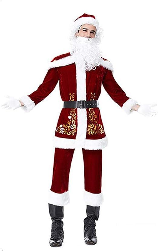 Disfraz de Papá Noel para Hombre Disfraz de Papá Noel para Navidad ...