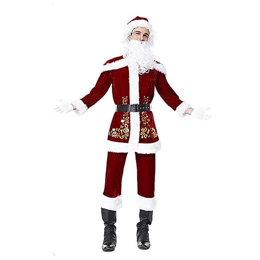 Disfraz de Papá Noel para Hombre Disfraz de Papá Noel para ...
