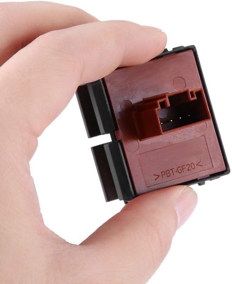Interruptor de bot/ón de elevalunas el/éctrico de control for Skoda Octavia Fabia 2 Roomster 1Z0959858 Interruptor de elevalunas el/éctrico