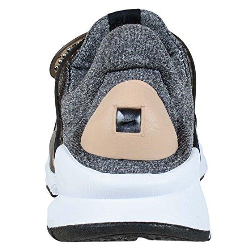 Nike Damen Sock Dart SE Laufschuhe Grau