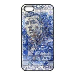iPhone 5 5S Case Black Cristiano Ronaldo Cell Phone Case Cover F8U4VL