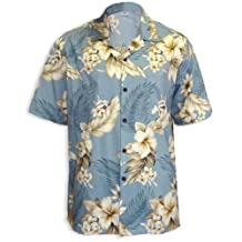 Hawaiian Shirts for Men in Cotton - Made in Hawaii - Many Desings and Colors