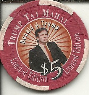 Image result for trump & poker chips