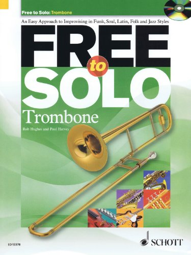 Free to Solo Trombone - Book and CD
