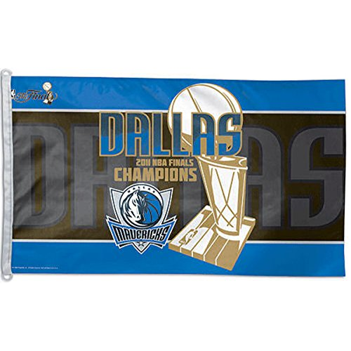 Dallas Mavericks 2011 NBA Champions Official Locker Room 3x5 Flag