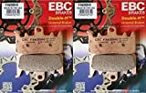 #10: EBC Double-H Sintered Front Brake Pads 2013-15 Can-Am Spyder RS RT ST F3 2 Sets