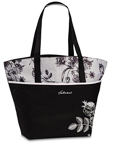Trendige Damen Frauen Strandtasche Beachtasche Badetasche Schultertasche Bag Shopper Fa. Bowatex