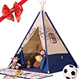Indoor Teepee Tent, Kids Classic Indian Play Tent - Makes Perfect Gift for Boys & Girls