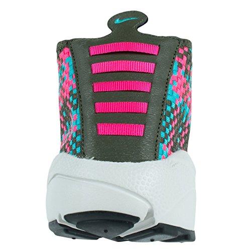 Nike Mens Footscape Aria Del Deserto Chukka Pattino Casuale Cargo Kaki / Iper-iper Giada Rosa-terra Dombra