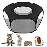 SlowTon 2020 New Small Animal Playpen, Foldable Pet
