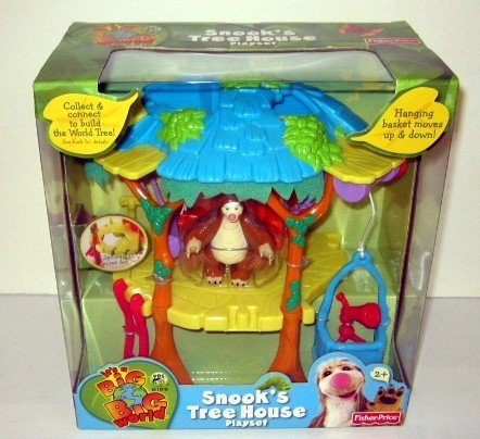 Big Big World Snook'S Treehouse (Tree House Fisher Price compare prices)