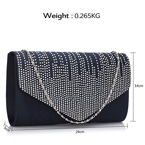 Embrayage Sparkly 299 Sacs Diamante LeahWard® Cristal Diamante Promo Portefeuilles De Beaded LeaWard Main Bag À Bal Mariée Marine Sac wqfnZ4F