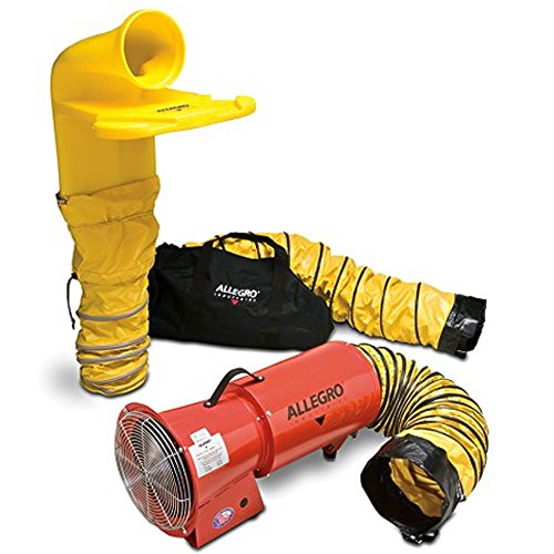 Allegro Blowers - Allegro Industries 9520‐14M AC Axial Blower System with MVP