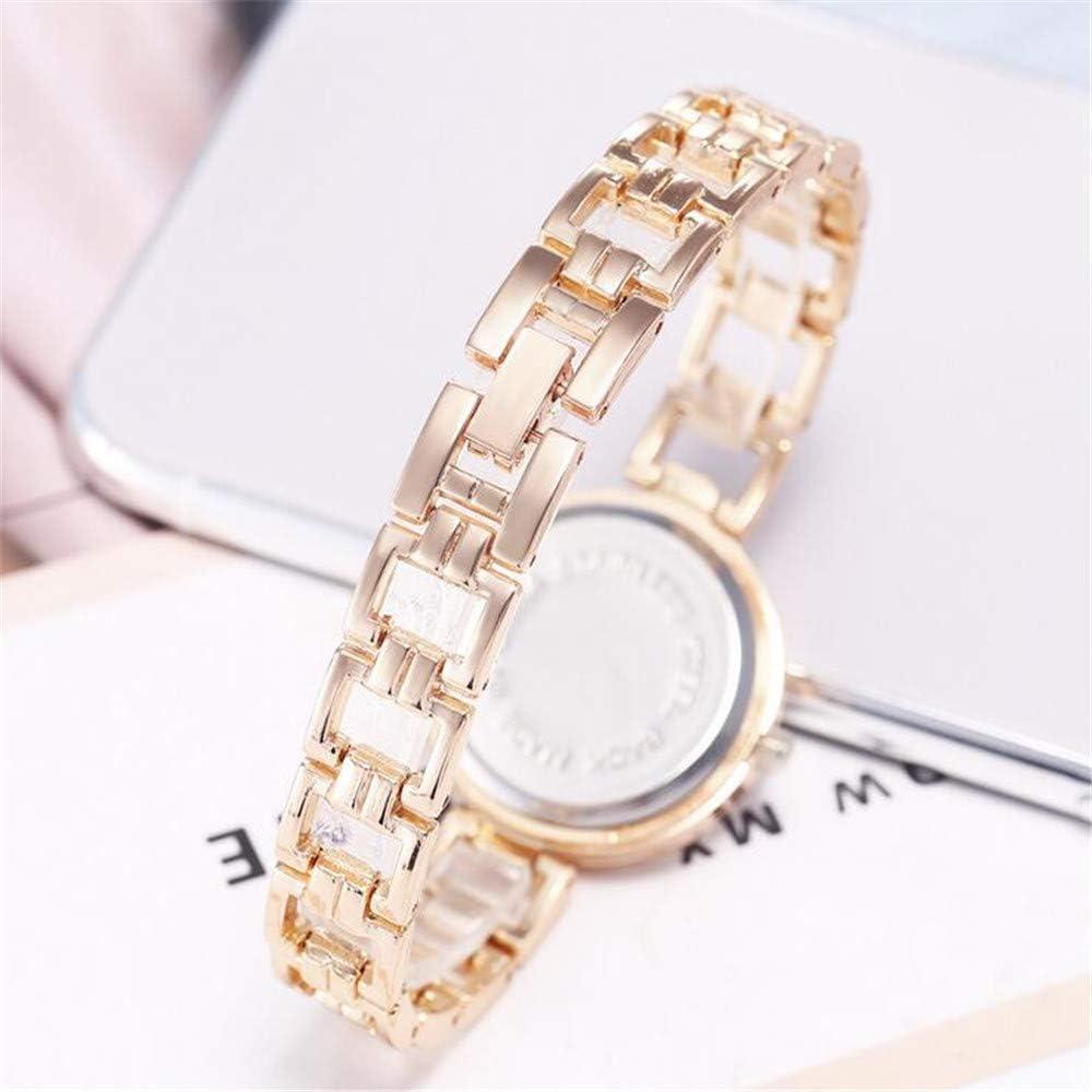 ZSDGY Bracelet numérique Minimaliste Bracelet Montre-Bracelet à Quartz B B