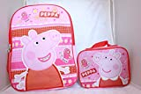 Peppa Pig Backpack School BookBag with Lunch Box Review and Comparison
