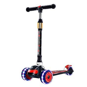 Amazon.com: K&G Scooter para niños - Ruedas plegables LED ...