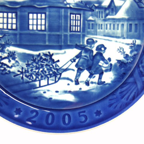 Of ' parallel import goods ' Years plate 2005 Hans Christian Andersen house by Royal Copenhagen
