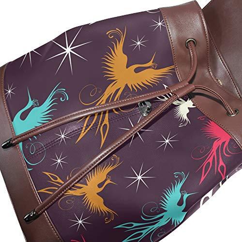DragonSwordlinsu main multicolore unique pour au Sac Taille femme à dos porté RqTRr6
