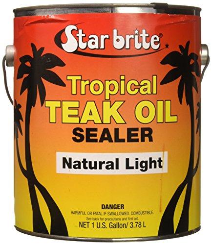 Star Brite Sealer Classic Tropical Teak Oil, 1 gal by Star Brite