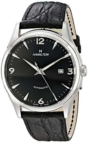 Hamilton Men s H38715731 Timeless Class Black Dial Watch