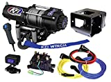 KFI Combo Kit - A3000 Winch & Mount Kit - 2014-2018 Polaris Sportsman 570