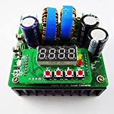 GEREE DC to DC Step Up Converter 6V-40V to 8V-80v 400W/10A Digital -Controlled Power Supply Constant Voltage Current Boost Converter