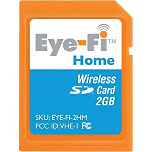 Eye-Fi Home Wireless 2 GB Secure Digital Card (EYE-FI-2HM)