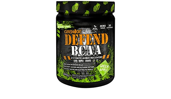 Grenade Defend BCAA Green Apple - 390 gr: Amazon.es: Salud y cuidado personal