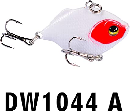 4.5cm//8.5g Fishing Lures Hard Crankbait VIB Bait Hook Freshwater//Saltwater New