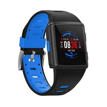 FJTYG Reloj Inteligente Presión Arterial Impermeable Smartwatch ...