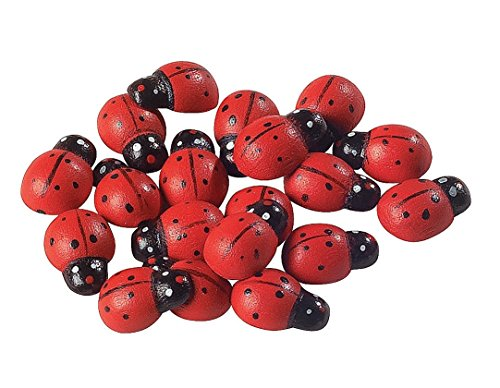 Fun Express Self-Adhesive Ladybugs - 50