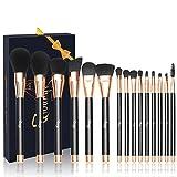 Best makeup brush set for beginner - Qivange Makeup Brushes, Soft Cosmetic Powder Highlighter Brush Review