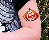 Halloween Glitter Tattoo Kit - HYPOALLERGENIC and DERMATOLOGIST TESTED!
