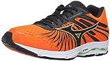 Mizuno Men's Wave Sayonara 4 Running Shoe, Quiet Shade/Black/Silver, 12 D US