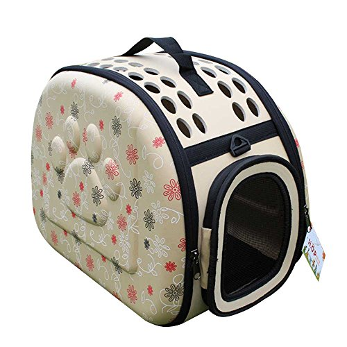 Dr Nezix Pet Travel Carrier Bag for Dog & Cat, Soft-Sided Carriers, Safety Lock, Under Seat Compatibility, Perfect for Cats and Small Dogs