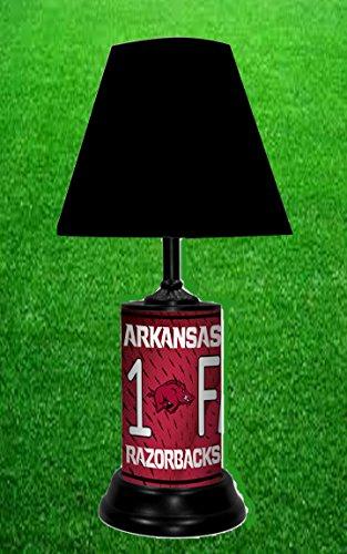 Arkansas Lamp - ARKANSAS RAZORBACKS NCAA LAMP - BY TAGZ SPORTS