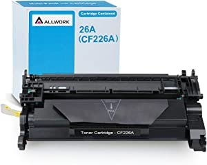 ALLWORK Compatible HP 26A CF226A 26X CF226X Toner Cartridge use for HP Laserjet Pro M402n M402dn M402dw M402dne MFP M426fdw MFP M426fdn (Black, 1-Pack)