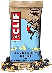 Clif Energy Protein Bars Blueberry Crisp 12 Pieces