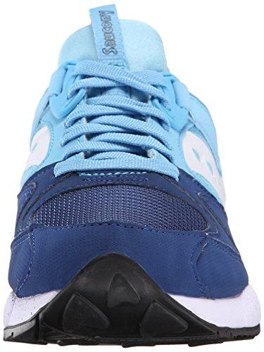 Saucony Originelen Heren Raster 9000 Sneaker Marine / Blauw