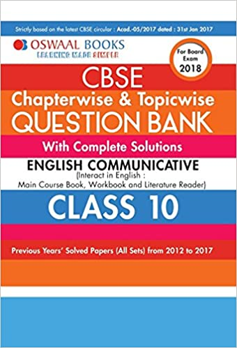 English Communicative Class 10 Book
