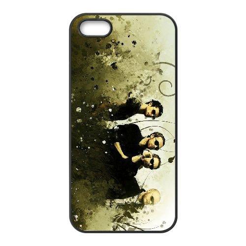 Coldplay 008 coque iPhone 4 4S cellulaire cas coque de téléphone cas téléphone cellulaire noir couvercle EEEXLKNBC24306