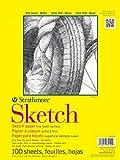 "Strathmore ((350-9 300 Series Sketch Pad, 9""x12"", 100 Sheets"