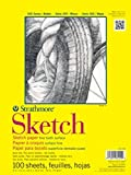 Strathmore ((350-9 300 Series Sketch Pad, 9'x12', 100 Sheets