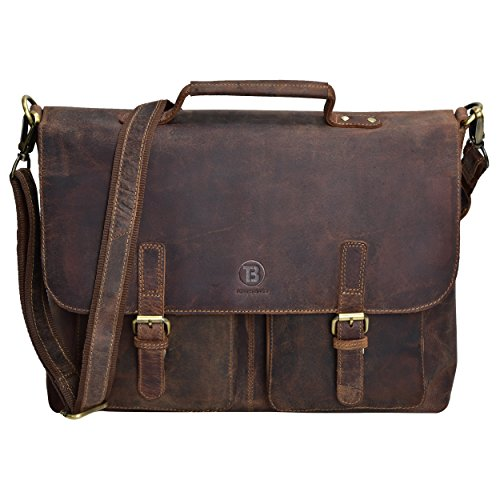 HOLIDAY DEALS SALE TONY'S BAGS - 15 inch Laptop bag - College Bag, Office Bag, Business Bag Briefcase in Vintage Style by Tony bags (Image #4)