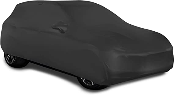WinPower Indoor Car Cover SUV Velvet Stretch Dust-Proof Protection Full Car Cover for Underground Garage