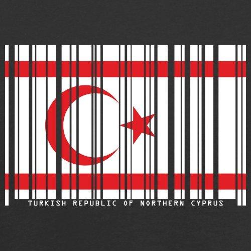 ... Turkish Republic of Northern Cyprus / Türkischen Republik Nordzypern  Barcode Flagge - Herren T-Shirt ...