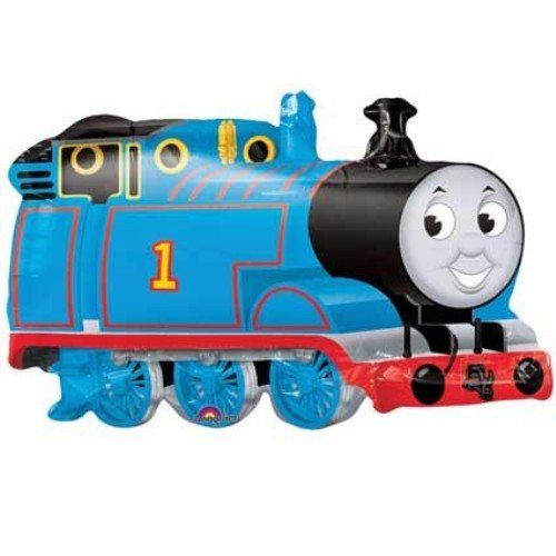 Thomas The Tank Train Mylar Party Balloon SuperShape (Multi color, 1 pack) -
