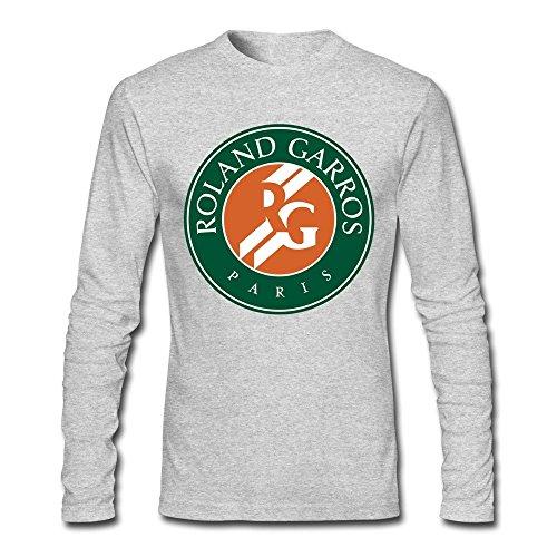 French Open Tennis Logo Man's Long Sleeve T-Shirt ()