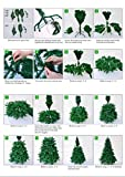 1.8m Christmas Tree GREEN 550 Pines Artificial Tree with Metal Stand